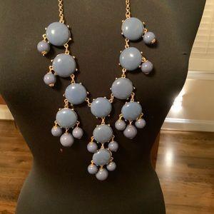 Blue Bubble Necklace